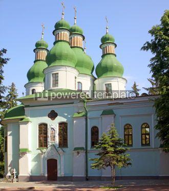 Architecture : Holy Trinity Monastery in Kitaevo. Kyiv Ukraine #07335