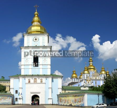 Architecture: St. Michael's Golden-Domed Cathedral - the famous church complex #07336
