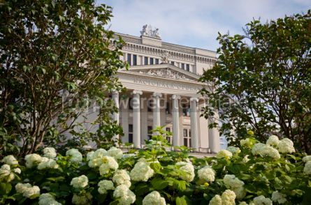 Architecture : Latvian National Opera Theater in Riga #07364