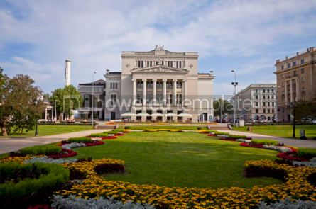 Architecture : Latvian National Opera Theater in Riga #07365