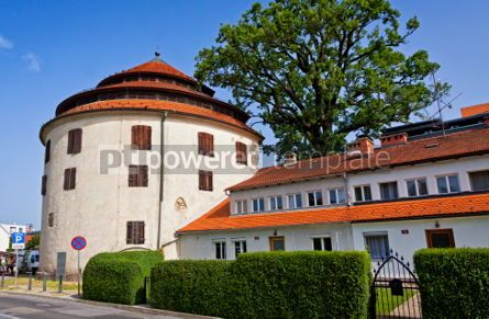 Architecture : Judgement Tower the fortified medieval tower in Maribor Sloven #07373