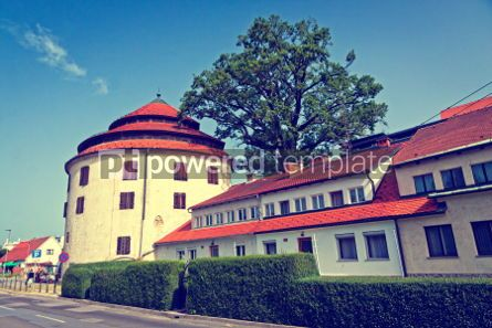Architecture : Judgement Tower the fortified medieval tower in Maribor Sloven #07374