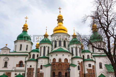 Architecture : Saint Sophia Cathedral in Kyiv Ukraine #07377