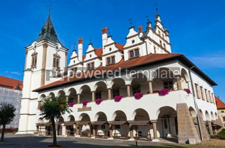 Architecture : Unique Old Town Hall (Levocska radnica) in Levoca town Slovakia #07378