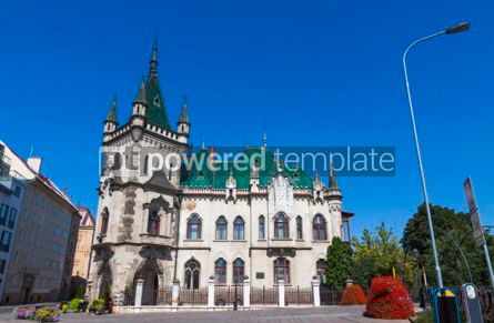 Architecture : Jakab Palace in Kosice city Slovakia #07379