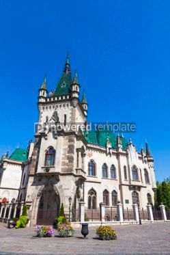 Architecture : Jakab Palace in Kosice city Slovakia #07380