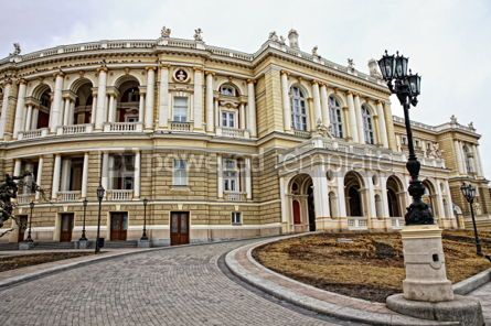 Architecture : Odessa National Academic Theater of Opera and Ballet #07423