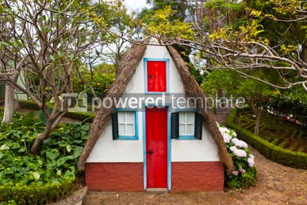 Architecture : Traditional rural house in Santana Madeira Portugal #07435