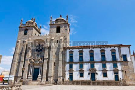 Architecture : Porto Cathedral (Se do Porto) Portugal #07438