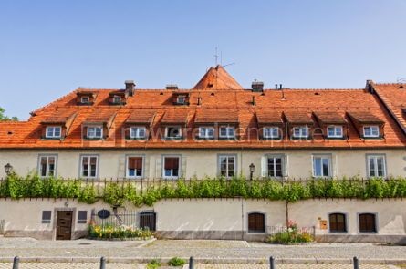 Architecture : Old Vine House building in Maribor Slovenia #07454