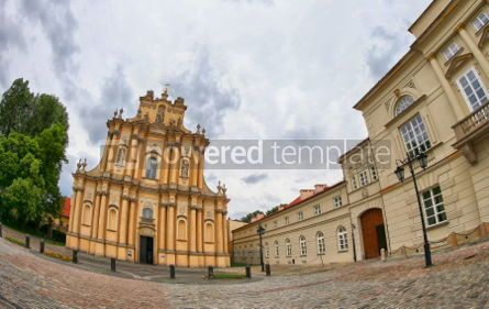 Architecture : Church of St. Joseph of the Visitationists in Warsaw Poland #07462
