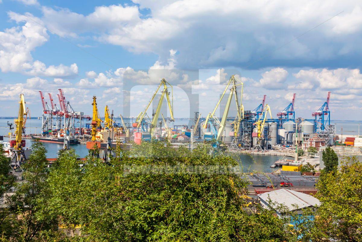 Sea port of Odessa Black Sea Ukraine, 07499, Industrial — PoweredTemplate.com