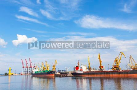 Industrial: Sea port of Odessa Black Sea Ukraine #07500