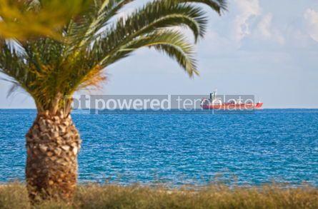 Industrial: Industrial ship in Mediterranean sea near Cyprus #07504