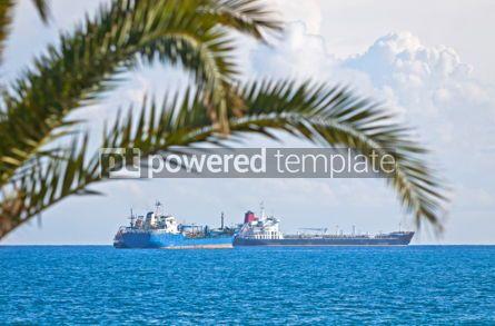 Industrial: Industrial ships in Mediterranean sea near Cyprus #07505