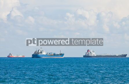 Industrial: Ships in Mediterranean sea near Cyprus #07509