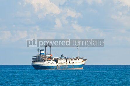 Industrial: Ship in Mediterranean sea near Cyprus #07510