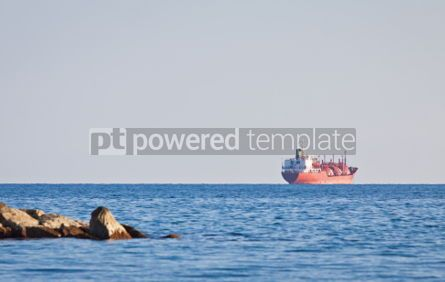 Industrial: Ship in Mediterranean sea near Cyprus #07513
