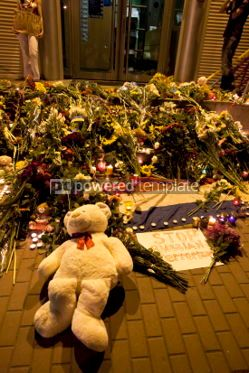 Education: People place flowers at Dutch embassy in Kyiv #07564
