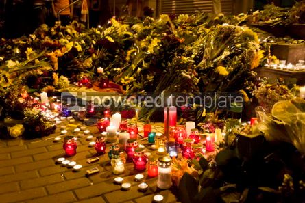 Education: People place flowers at Dutch embassy in Kyiv #07566