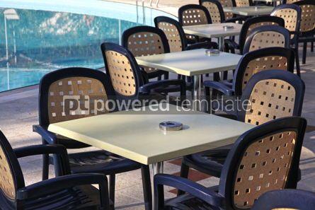Architecture : Details of outdoor hotel restaurant #07648
