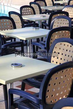 Architecture : Details of outdoor hotel restaurant #07649