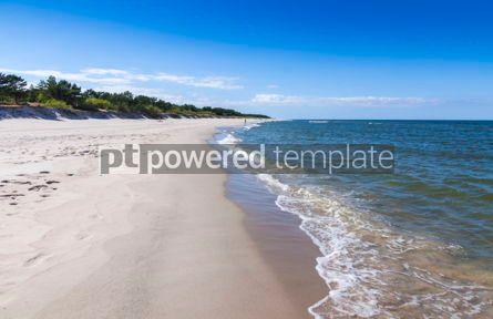 Nature: Sandy beach on Hel Peninsula Baltic sea Poland #07701