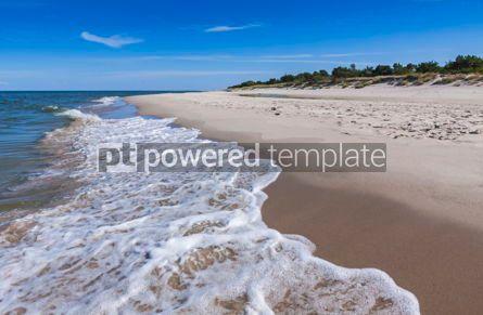 Nature: Sandy beach on Hel Peninsula Baltic sea Poland #07705