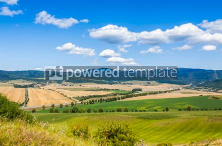 Nature: Rural summer landscape in Eastern Slovakia #07719