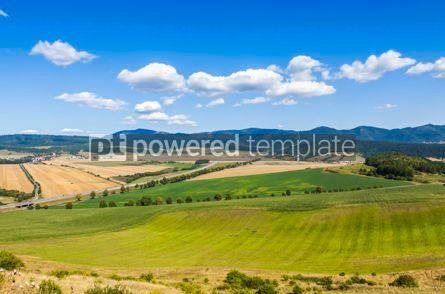 Nature: Rural summer landscape in Eastern Slovakia #07720
