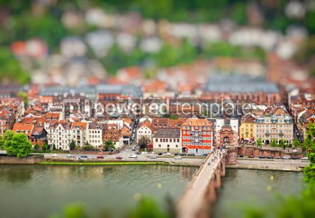 Architecture : Heidelberg old town Germany #07758