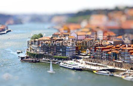 Architecture : Old center of City of Porto and Douro river Portugal #07760