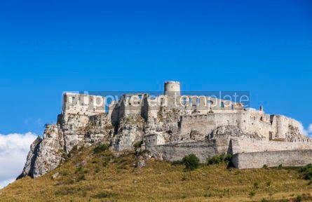 Architecture : Spis Castle (Spissky hrad) Slovakia #07773