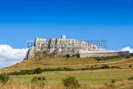 Architecture : Spis Castle (Spissky hrad) Slovakia #07774