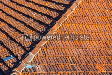 Architecture : Orange tile rooftops in Porto old town Portugal #07817
