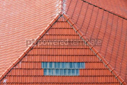 Architecture : Orange tile rooftops in Porto old town Portugal #07819