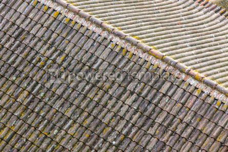 Architecture : Tile rooftops in Porto old town Portugal #07820