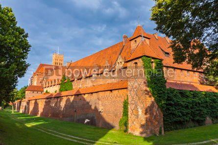 Architecture : Malbork castle in Pomerania region of Poland #07836