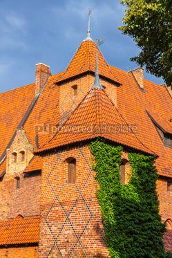 Architecture : Malbork castle in Pomerania region of Poland #07837