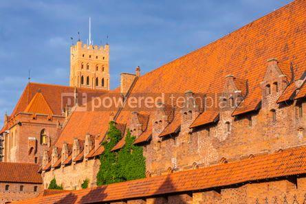 Architecture : Malbork castle in Pomerania region of Poland #07838