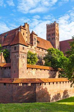 Architecture : Malbork castle in Pomerania region of Poland #07840