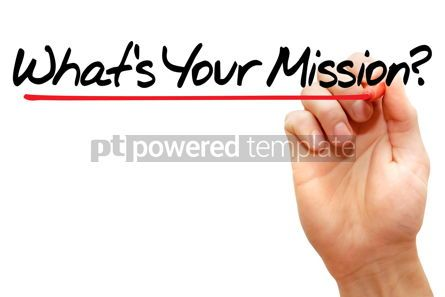 Business: What's Your Mission #07894