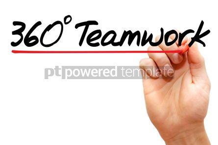Business: 360 degrees Teamwork #07919