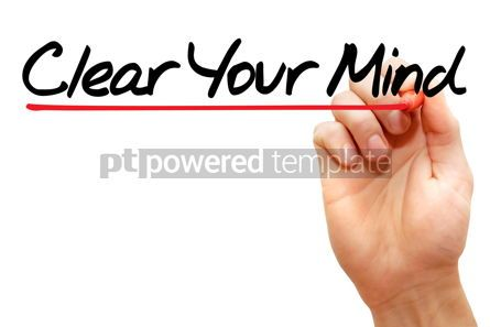 Business: Clear Your Mind #07943