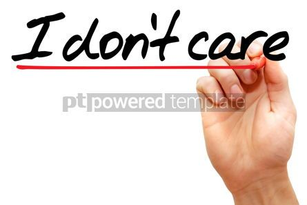 Business: I don't care #07952