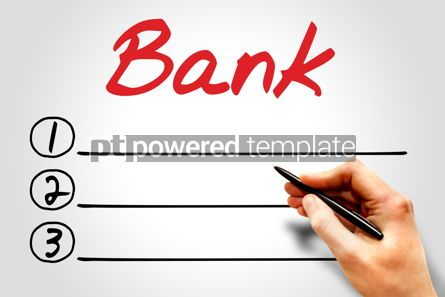 Business: BANK blank list #07973