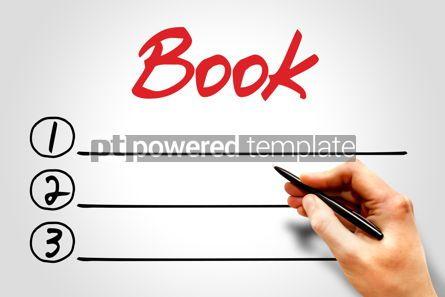 Business: BOOK blank list #08001