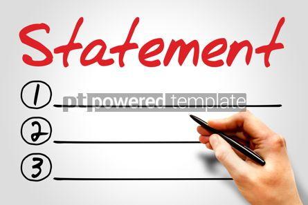 Business: Statement #08039