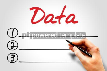 Technology: Data blank list #08074