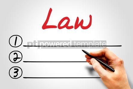 Business: Law blank list #08175